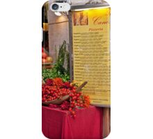 Fresh Ingredients iPhone Case/Skin