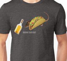 Drunk Taco Rat Unisex T-Shirt
