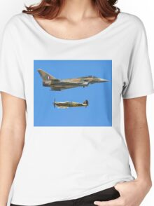 Battle of Britain Synchro Pair RIAT 2015 Women's Relaxed Fit T-Shirt