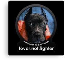 American Pit Bull Terrier Canvas Print
