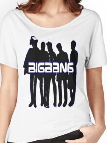 ㋡♥♫Love BigBang K-Pop Clothing & Stickers♪♥㋡ Women's Relaxed Fit T-Shirt