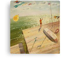 Catcher of light Canvas Print
