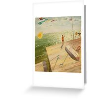 Catcher of light Greeting Card