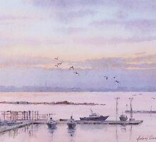 Harbor in Odessa by AndrejGerasimuk