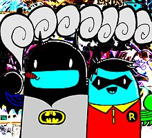 batman n bombin by DRED