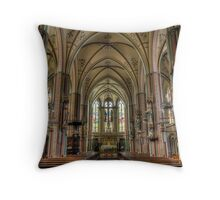 the most beautiful church Throw Pillow
