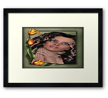 Head Shot 6 Framed Print