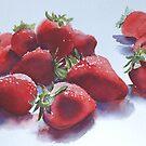 Strawberries  by Karl Fletcher