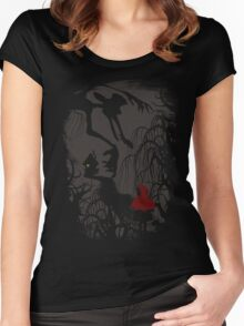 Little Red Riding Hood (new version) Women's Fitted Scoop T-Shirt