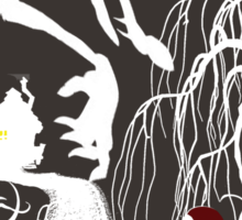 Little Red Riding Hood (new version) Sticker