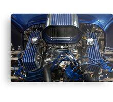 Hotrod Engine Metal Print