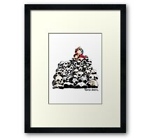 Desktop Warrior Framed Print