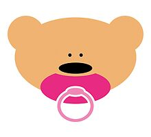 Teddy bear baby girl by chrisbears