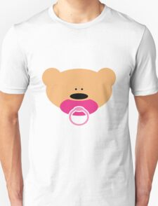 Teddy bear baby girl Unisex T-Shirt
