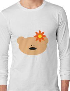 Teddy bear flower Long Sleeve T-Shirt