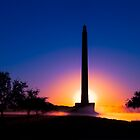 Dawn at San Jacinto Monument by Paul Wolf