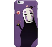 no face is funny iPhone Case/Skin