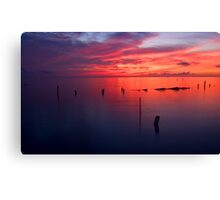 Seabrook Sunrise 2 Canvas Print