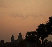 Sunrise Angkor Wat by sarcalder