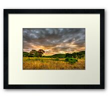 Texas Hill Country Ranch HDR Framed Print