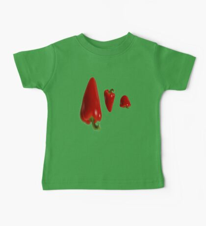 Hot Peppers2 Baby Tee
