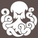 Bioshock Infinite Undertow Vigor [White on Black] by TitanVex