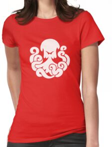 Bioshock Infinite Undertow Vigor [White on Black] Womens Fitted T-Shirt