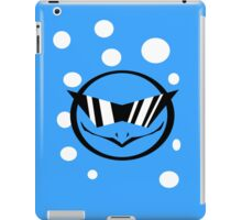 Squirtle with glasses - 4 iPad Case/Skin