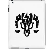 Bioshock Infinite Charge Vigor [Black on White] iPad Case/Skin