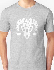 Bioshock Infinite Charge Vigor [White on Black] Unisex T-Shirt