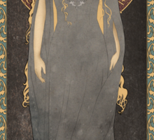 The Lord of the Rings poster Galadriel - Lady of the Galadhrim / art nouveau Sticker