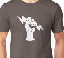 Bioshock Infinite Shock Jockey Vigor [White on Black] T-Shirt