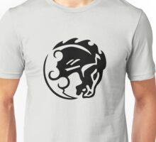 Bioshock Infinite Bucking Bronco Vigor [Black on White] T-Shirt