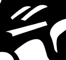 Bioshock Infinite Bucking Bronco Vigor [Black on White] Sticker