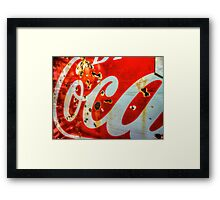 Pepsi Drive-By Framed Print