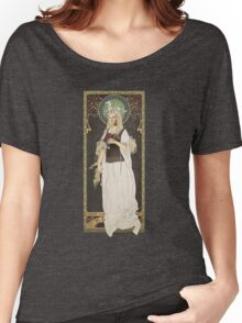 The Lord of the Rings poster Éowyn - shieldmaiden of Rohan / art nouveau Women's Relaxed Fit T-Shirt