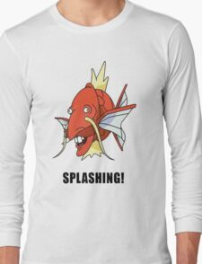 Splashing Long Sleeve T-Shirt
