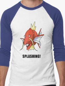 Splashing Men's Baseball ¾ T-Shirt