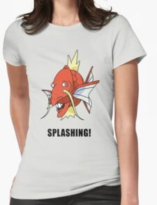 Splashing Womens Fitted T-Shirt