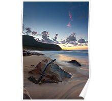 Garie Beach First-Light Poster