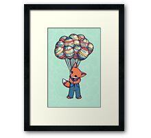 A Bunch of Balloons for my Baby Framed Print