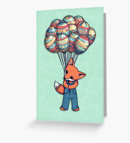 A Bunch of Balloons for my Baby Greeting Card