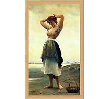 Painting Of A Woman Photographic Print