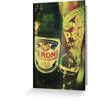 Peroni Love - Beer 1 Greeting Card