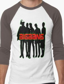 ㋡♥♫Love BigBang K-Pop Clothing & Stickers♪♥㋡ Men's Baseball ¾ T-Shirt