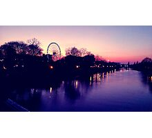 River Ouse at Dusk Photographic Print