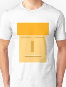 Orange Box Face  T-Shirt