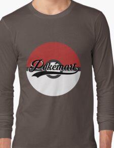 Pokemart retro logo Long Sleeve T-Shirt