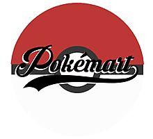 Pokemart retro logo Photographic Print