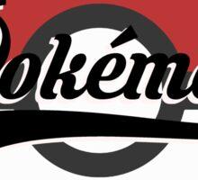 Pokemart retro logo Sticker